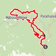 Map / Szintgyűjtés a Mátrában