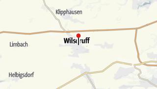 Karte / Turnhalle Zedtlerstraße / Erste Zentralschule Wilsdruffs