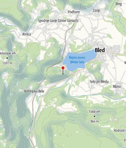 Map / Mala Osojnica