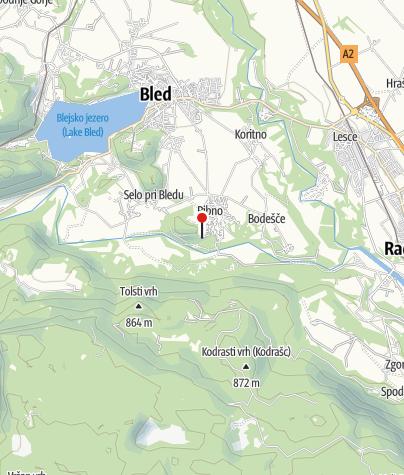 Map / Hotel Ribno