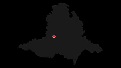 Karte / Moravský Krumlov Region - an Ufern der Flüsse Jihlava und Rokytná
