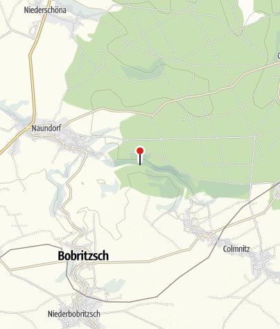 Karte / Geografischer Mittelpunkt Sachsen