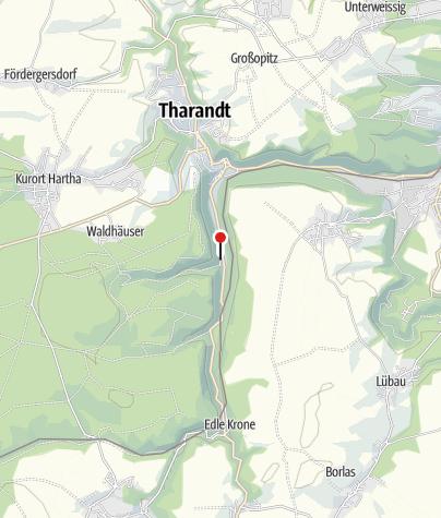 Karte / Wasserkraftwerk Tharandt