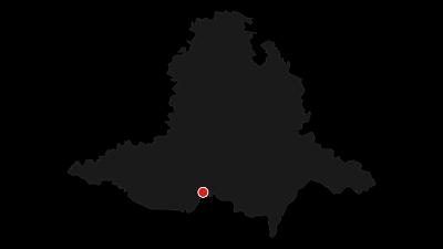 Karte / Mikulovsko Weinroute - sonniges Italien unter den Pollauer Bergen