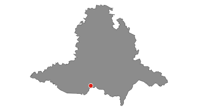 Map / Mikulovsko wine route - sunny Italy under the Pavlov mountains