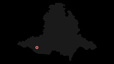 Karte / Znojmo Region auf der Mährischen Weinroute - Geschichte im Wein