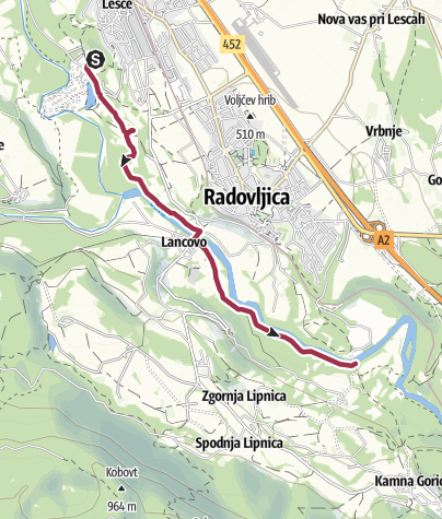Map / The Sava River Trail