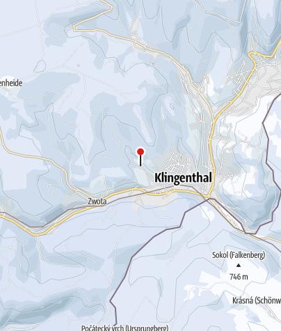 Map / Rodelhang am Skilift Jägerstraße