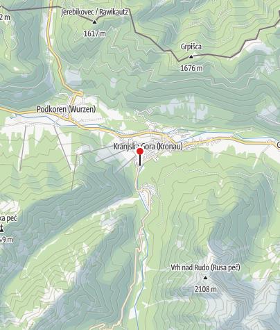 Zemljevid / Hotel Lek