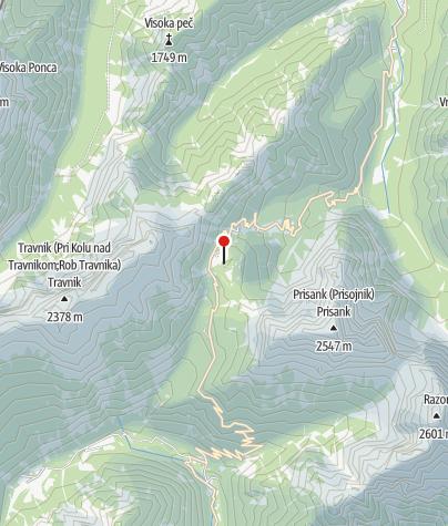 Zemljevid / Vršič