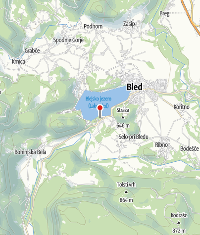 Map / Vila Bled