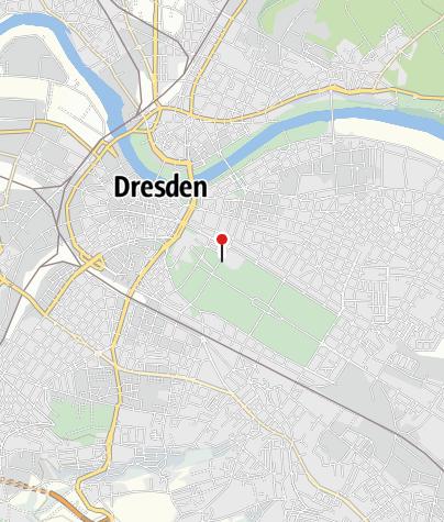 Karte / e-mobility Ladestation Gläserne Manufaktur Volkswagen Dresden
