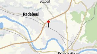 Karte / Ladestation Adensis