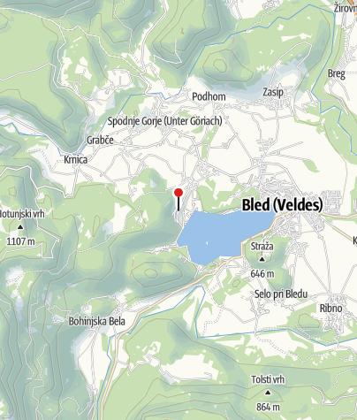 Map / By oldtimer train from Jesenice to Goriška Brda