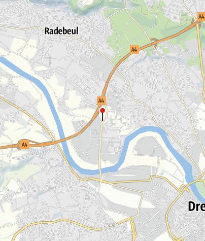 Karte / Ladestation Allego GmbH - Dresden