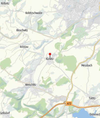 Karte / SR 2 Denkmal Kürbitz