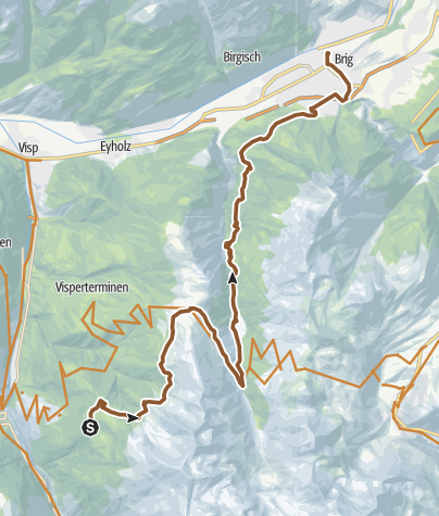 Karte / Gspon Panorama Bike