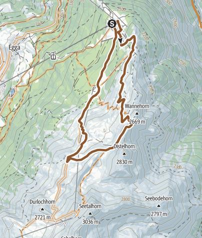 Karte / Hannig Loop