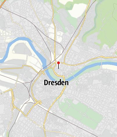 Karte / Barockviertel Dresden