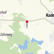"""Karte / Ferienwohnung""""Zu Gast bei den Zaungästen"""""""
