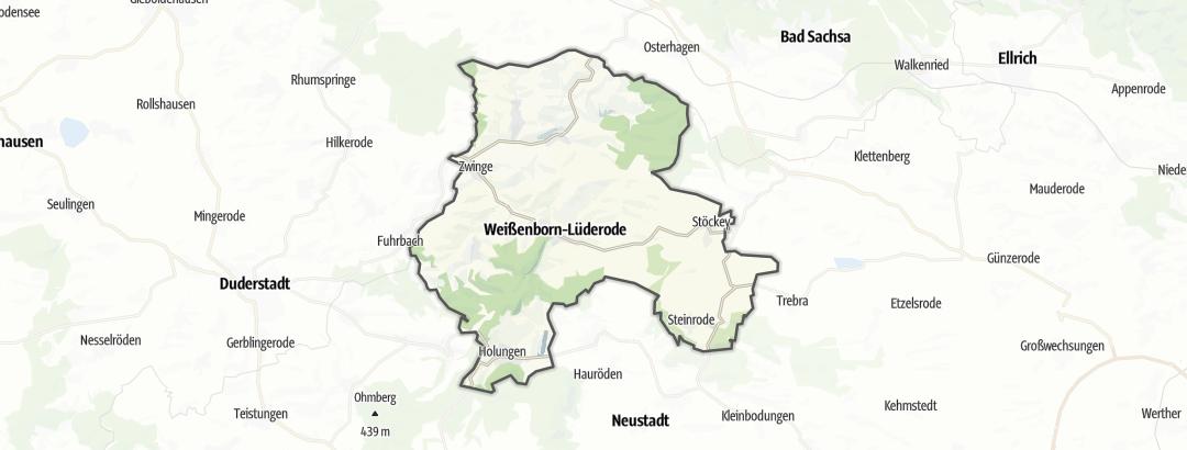 Karte / Radfahren in Sonnenstein