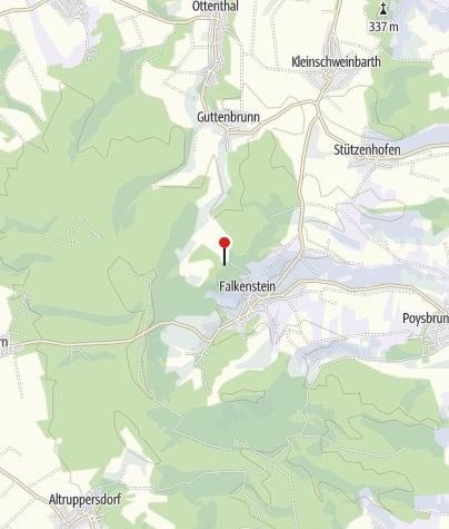 Map / Reisemobilstellplatz Burgruine Falkenstein