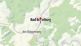 Map / Shuttle-Service zwischen Bad Berleburg und Kühhude