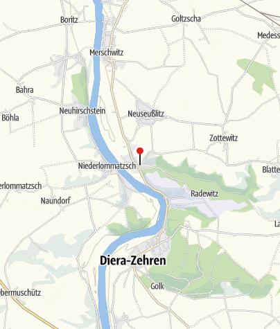 Karte / Schlosspark Diesbar-Seußlitz