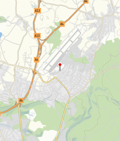 Karte / Ladestation Flughafen Dresden