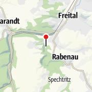 """Map / """"Hains"""" Freizeitzentrum Freital"""