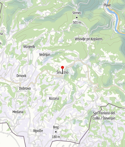 Map / Alpe-Adria-Trail Infopoint Šmartno