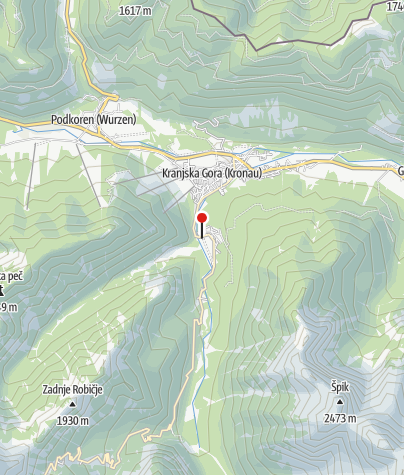 Zemljevid / Parkplatz am Jasna-See