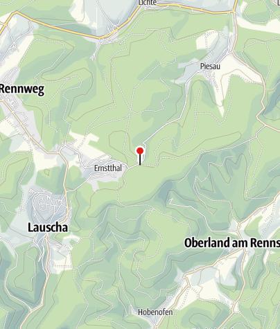 Karte / Ehrenmal des Thüringer Skiverbandes für die im ersten Weltkrieg gefallenen Wintersportler