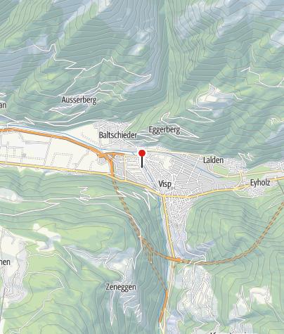 Karte / Camping Mühleye Visp