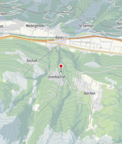 Karte / Sporthotel Walliserhof Unterbäch