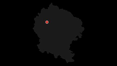 Map / Poutní kostel sv. Jana Nepomuckého na Zelené hoře (UNESCO)