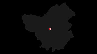 Karte / Fabelhafter Überflieger: Schwarzstorch