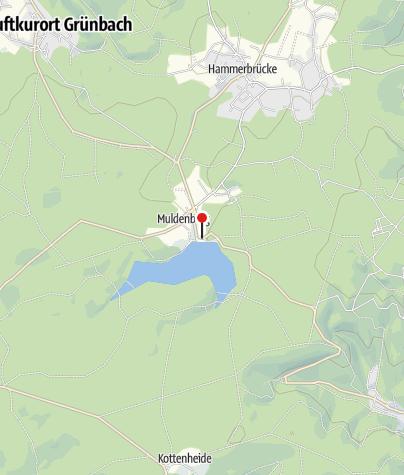 Map / Parkplatz am Badeteich Muldenberg