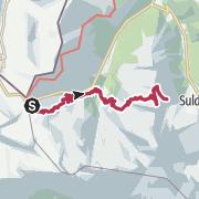 Map / Ortlerumrundung mit Cevedalebesteigung Tag 1