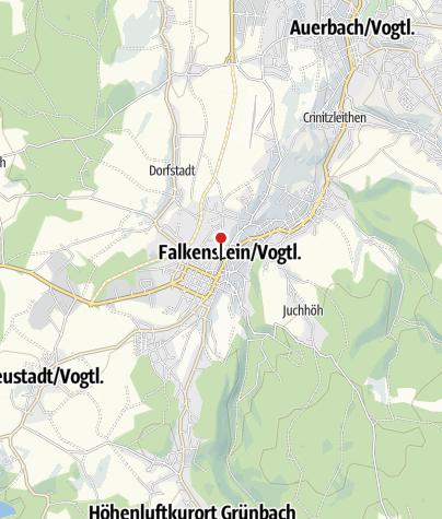 Map / Schulfelsen am Tierpark Falkenstein
