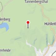 """Karte / Aussichtspunkt """"Halde"""" Schneckenstein"""