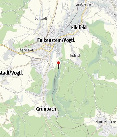 Karte / Lohbergfelsen