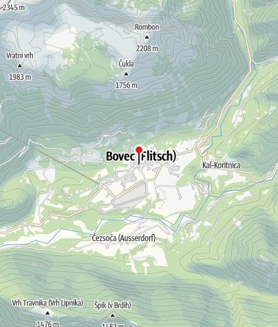 "Map / Canyoning ""Advanced"" - Fratarca"