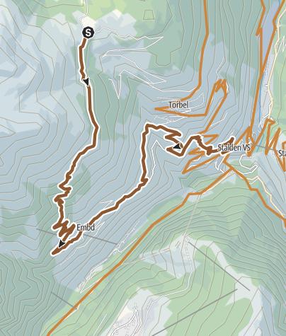 Karte / Stalden Enduro