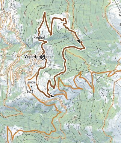 Karte / Bodmer Loop