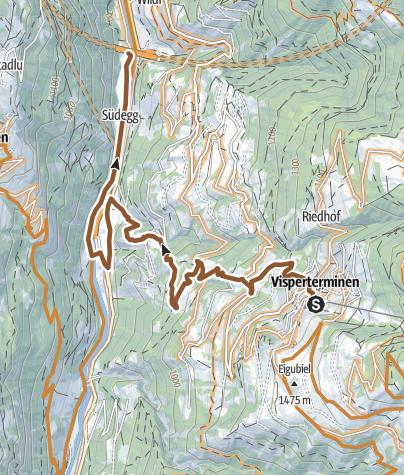 Karte / Parmili Trail