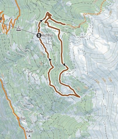 Karte / Gsponer Rundtrail