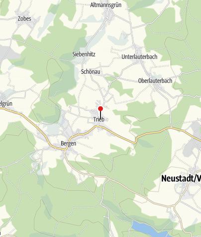Map / Gasthof  Schneider in Trieb