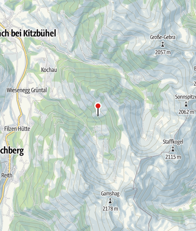 Karte / Thalemalm, 1423 m