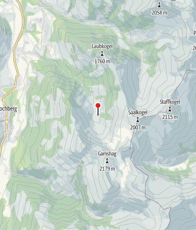 Karte / Niederkaseralm, 1373 m
